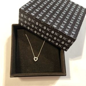 Roberto Coin Diamond heart necklace